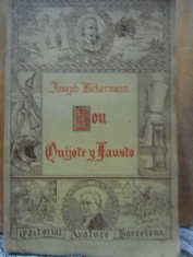 Don Quijote y Fausto Joseph Bickermann