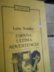 España: última advertencia. León Trotsky