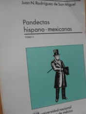 Pandectas hispano-mexicanas 3 tomos