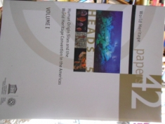 World Heritage Papers 42 Heads 5 Human  Origin Sites and the World Heritage Convention in the Americas 2 vols. bilingue